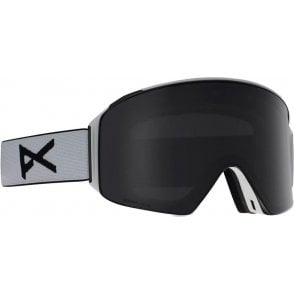 Anon M4 Goggles - Cylindrical White / Sonar Smoke