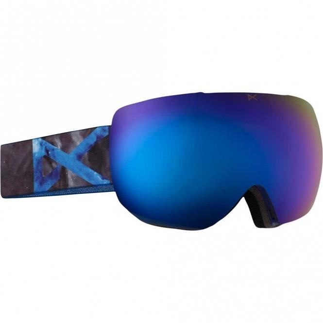 Anon MIG MFI Snowboard Goggles - 2017 Supernova/Blue Cobalt