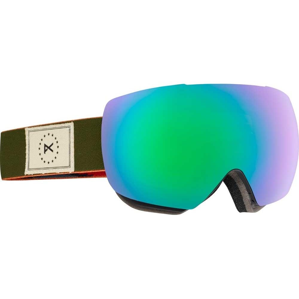 anon goggles  Anon MIG MFI Snowboard Goggles - 2017 Wellington / Green Solex