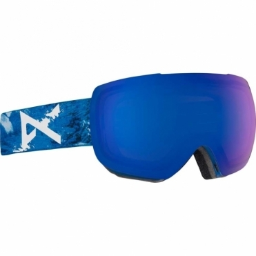 Anon MIG MFI Snowboard Goggles - 2018 Hiker Blue / Sonar Blue