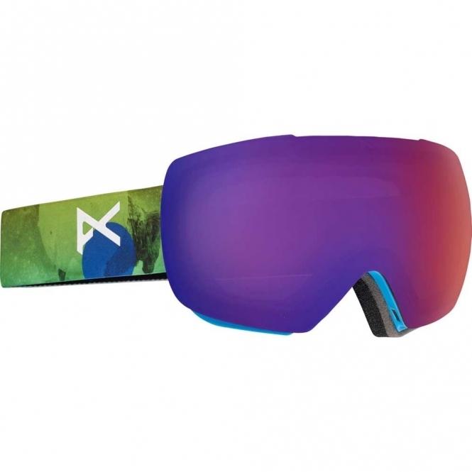 Anon MIG Snowboard Goggles - 2017 Tatonka / Blue Fusion