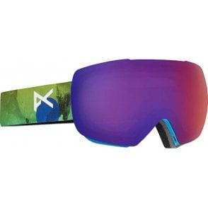 MIG Snowboard Goggles - 2017 Tatonka / Blue Fusion