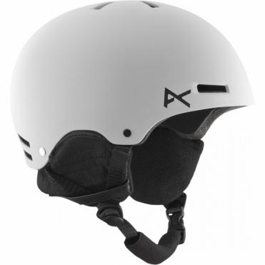 Raider Snowboard Helmet - White