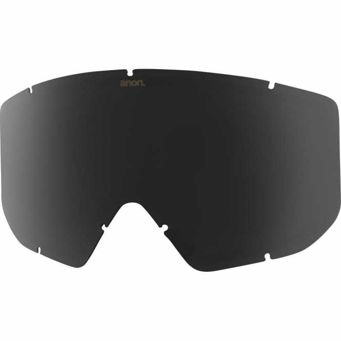 Anon Relapse Goggle Replacement Lens - Dark Smoke