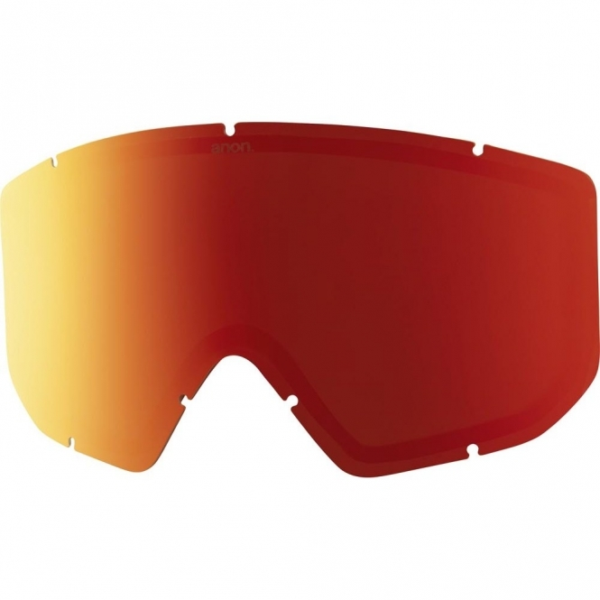 Anon Relapse Goggle Replacement Lens - Red Solex