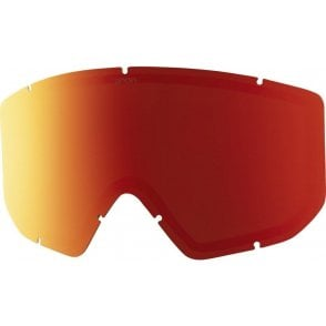 Relapse Goggle Replacement Lens - Red Solex