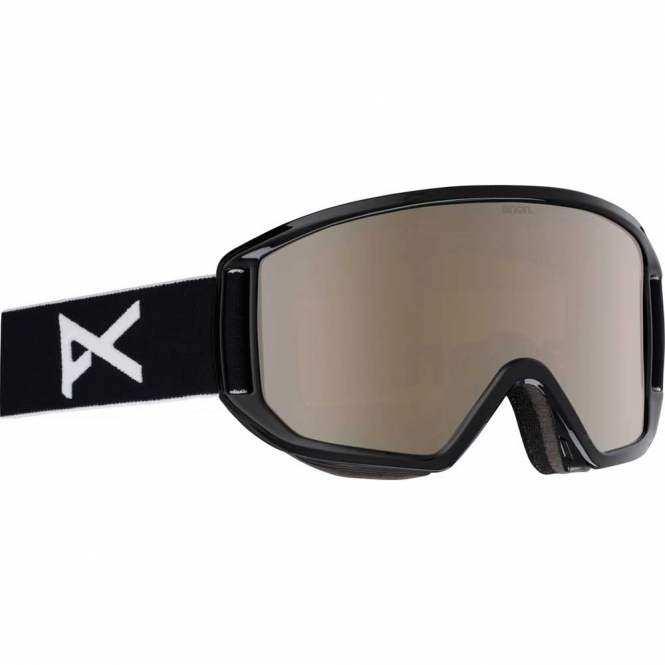 Anon Relapse Goggles - 2018 Black / Silver Amber
