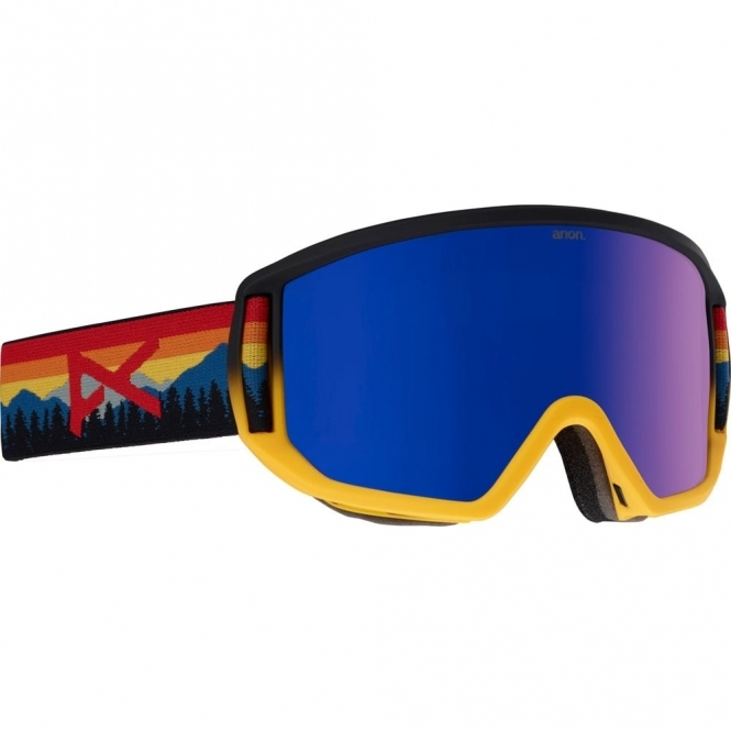 Anon Relapse Goggles - 2018 Range Orange / Blue Cobalt