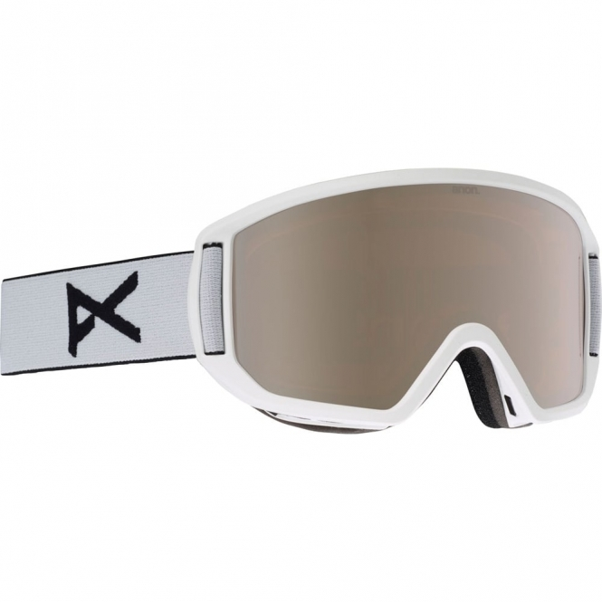 Anon Relapse Goggles - 2018 White / Silver Amber