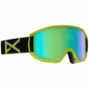 Anon Relapse MFI Goggles - 2019 Black Green / Sonar Green