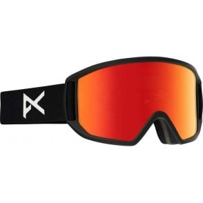 Relapse Snowboard Goggles - 2017 Black Scale / Red Solex