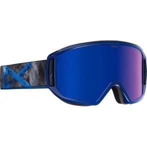 Relapse Snowboard Goggles - 2017 Supernova / Blue Cobalt