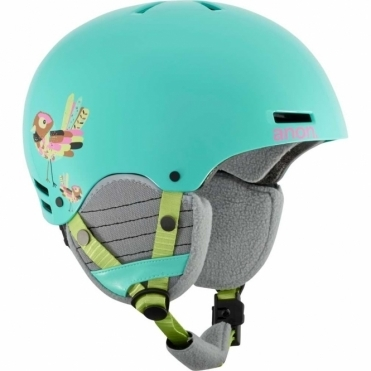 Rime Snowboard Helmet - Birdie Blue