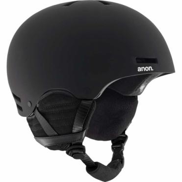 Rime Snowboard Helmet - Black