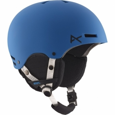 Rime Snowboard Helmet - Blue