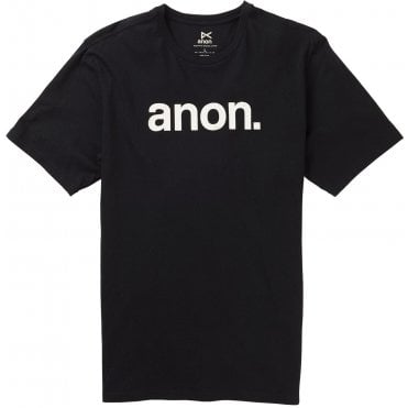 Anon Short Sleeve T-Shirt - Black