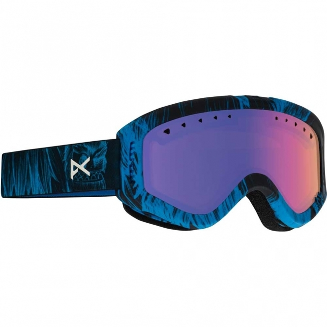 Anon Tracker Youth Goggles - 2017 Sulley / Blue Amber
