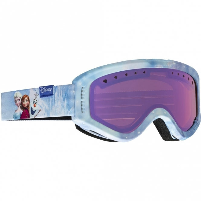Anon Tracker Youth Goggles - Frozen / Blue Amber