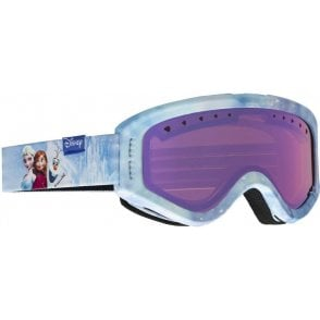 Tracker Youth Goggles - Frozen / Blue Amber
