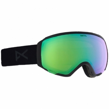 Anon WM1 MFI Women's Goggles - 2019 Smoke / Sonar Green