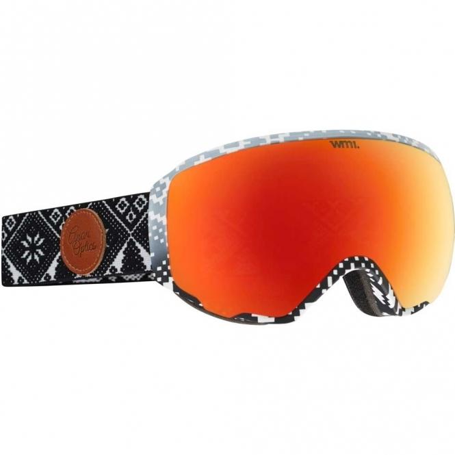 Anon WM1 Snowboard Goggles - 2017 Apres / Red Solex