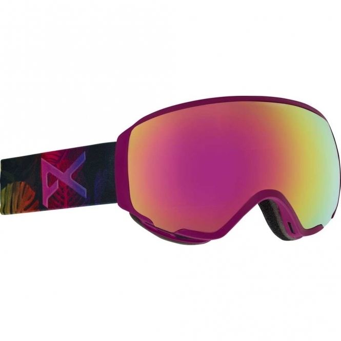Anon WM1 Snowboard Goggles - 2018 Digi Tiki / Pink Cobalt