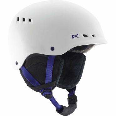 Wren Snowboard Helmet - White
