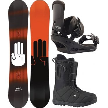 Bataleon Fun.Kink Snowboard Package