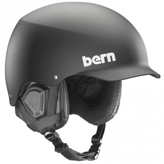Bern Baker Snowboard Helmet - Matte Black