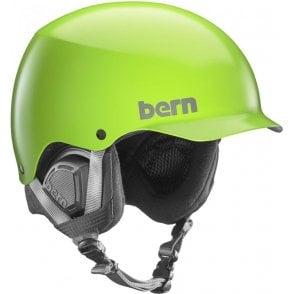 Baker Snowboard Helmet - Satin Neon Green