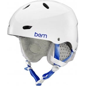 Bern Brighton Snow Helmet - Gloss White