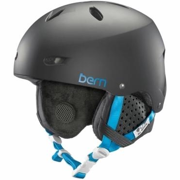 Bern Brighton Snow Helmet - Matte Black