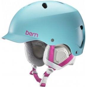 Lenox Snowboard Helmet - Satin Aqua