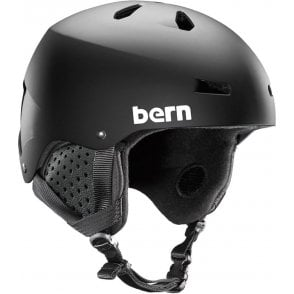 Bern Macon Snow Helmet - Matte Black