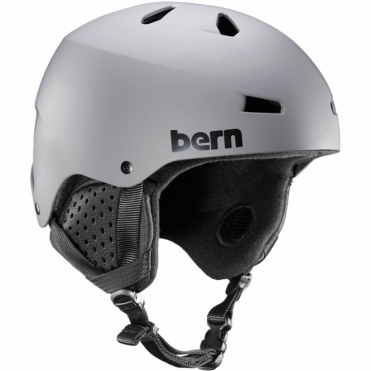 Bern Macon Snow Helmet - Matte Grey