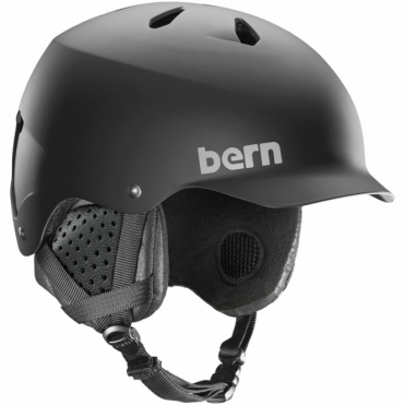 Bern Watts Snow Helmet - Matte Black