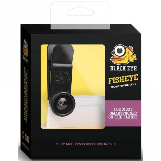 Black Eye Fish Eye Smartphone Lens