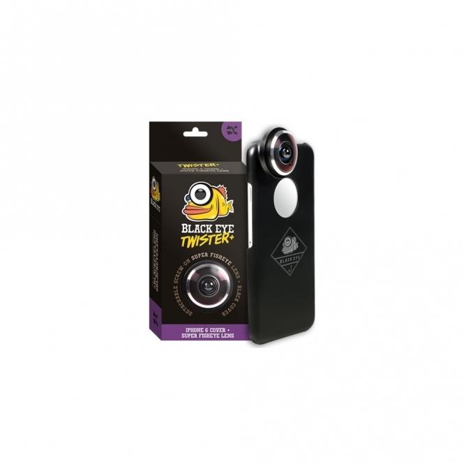 Black Eye Twister+ Fisheye Lens for iPhone 6