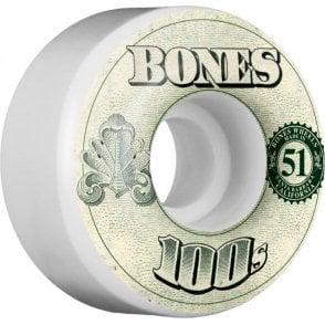 Bones OG 100's #11 V4 - 51mm