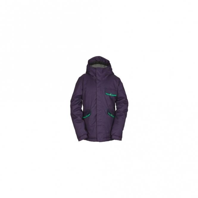 Bonfire Aster Snowboard Jacket - Plum