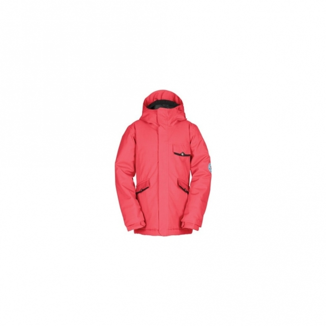 Bonfire Aster Snowboard Jacket - Tango