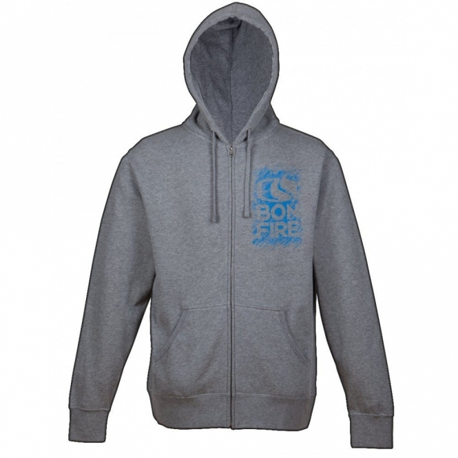 Bonfire Chalk Hoodie - Heather Grey