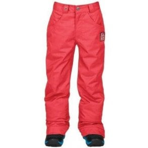 Bonfire Derby Youth Snowboard Pants - Tango