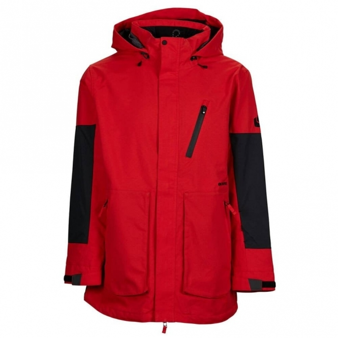 Bonfire Men's Strata Snowboard Jacket - Red