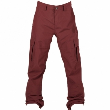 Bonfire Men's Tactical Snowboard Pants - Maroon