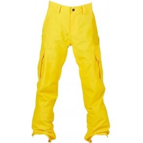 Bonfire Men's Tactical Snowboard Pants - Yellow