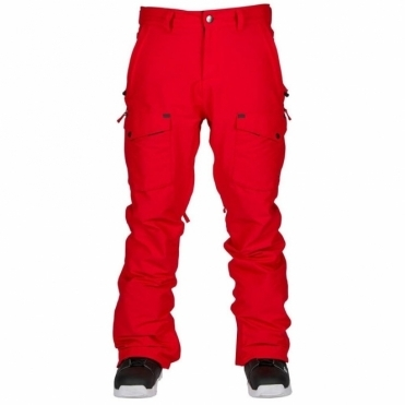 Bonfire Men's Zone Snowboard Pants - Red