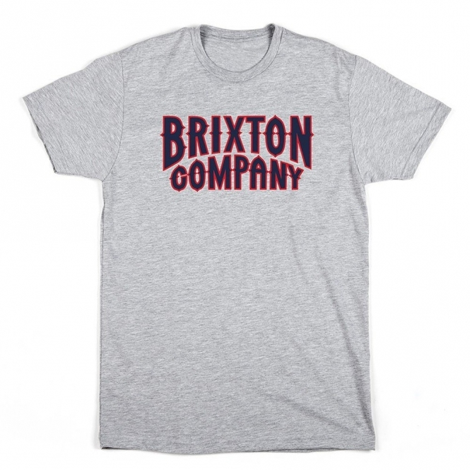 Brixton Bailey Tee Heather Grey