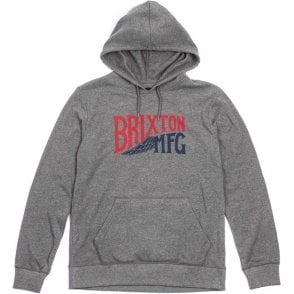 Brixton Coventry Hooded Sweatshirt Heather Grey
