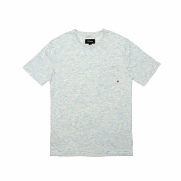 Brixton Dean Tee Heather Blue
